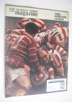 The Sunday Times magazine - This Sporting League cover (3 May 1964)