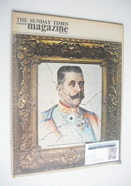 <!--1964-06-28-->The Sunday Times magazine - Archduke Franz Ferdinand cover