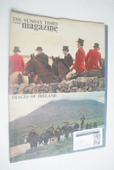 The Sunday Times magazine - Images Of Ireland cover (31 May 1964)