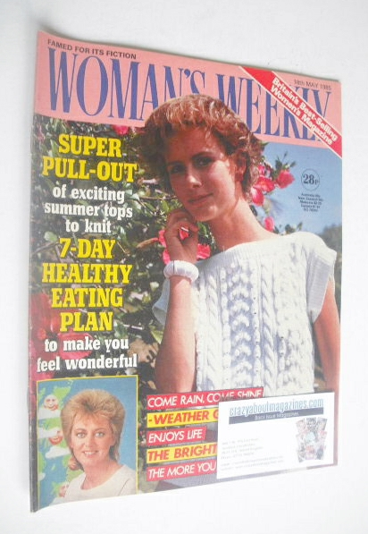 <!--1985-05-18-->Woman's Weekly magazine (18 May 1985 - British Edition)