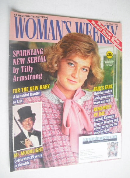 <!--1985-05-11-->Woman's Weekly magazine (11 May 1985 - British Edition)