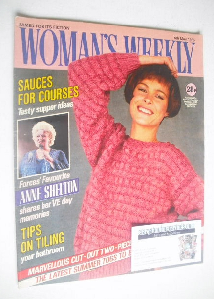 <!--1985-05-04-->Woman's Weekly magazine (4 May 1985 - British Edition)