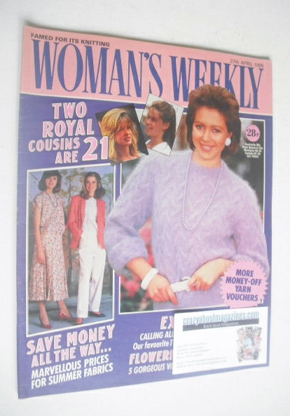 <!--1985-04-27-->Woman's Weekly magazine (27 April 1985 - British Edition)