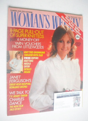 <!--1985-02-09-->Woman's Weekly magazine (9 February 1985 - British Edition
