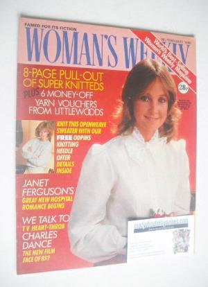 <!--1985-02-09-->Woman's Weekly magazine (9 February 1985 - British Edition