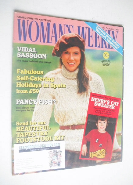 <!--1985-02-02-->Woman's Weekly magazine (2 February 1985 - British Edition