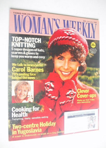<!--1985-01-26-->Woman's Weekly magazine (26 January 1985 - British Edition