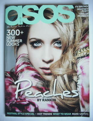 <!--2009-05-->asos magazine - May 2009 - Peaches Geldof cover