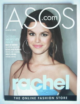 asos magazine - March 2008 - Rachel Bilson cover