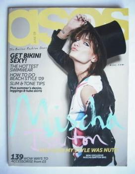 <!--2009-06-->asos magazine - June 2009 - Mischa Barton cover