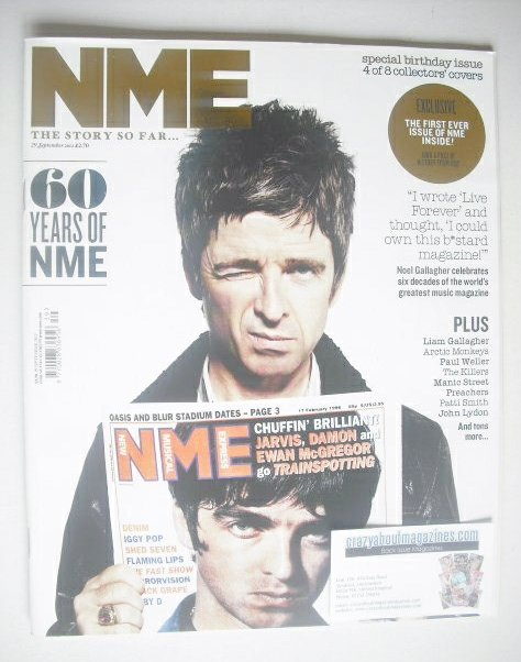 <!--2012-09-29-->NME magazine - Noel Gallagher cover (29 September 2012)