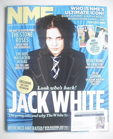 <!--2012-03-24-->NME magazine - Jack White cover (24 March 2012)