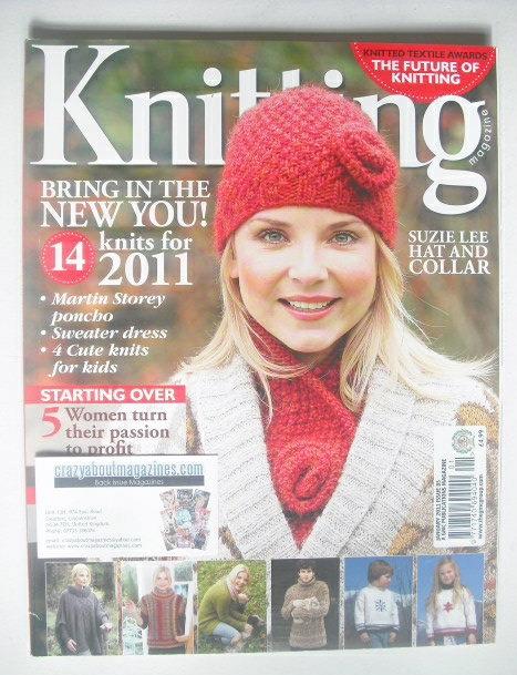 <!--2011-01-->Knitting magazine (January 2011 - Issue 85)