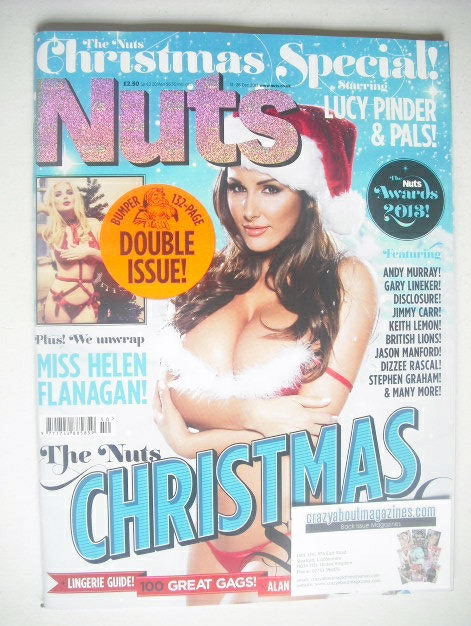 <!--2013-12-13-->Nuts magazine - Lucy Pinder cover (13-26 December 2013)
