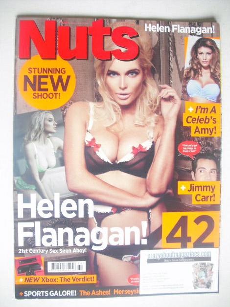 <!--2013-11-22-->Nuts magazine - Helen Flanagan cover (22-28 November 2013)