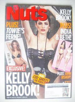 Nuts magazine - Kelly Brook cover (8-14 November 2013)