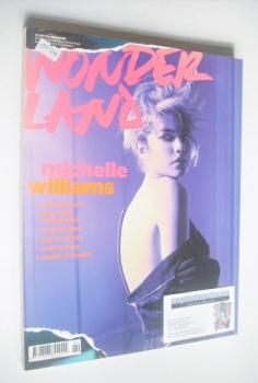 Wonderland magazine - February/March 2008 - Michelle Williams cover