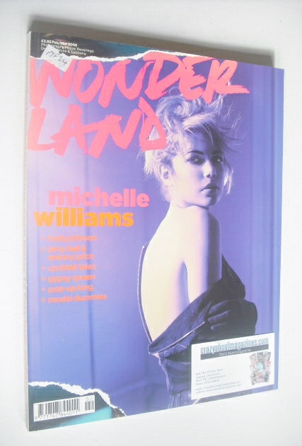 <!--2008-02-->Wonderland magazine - February/March 2008 - Michelle Williams