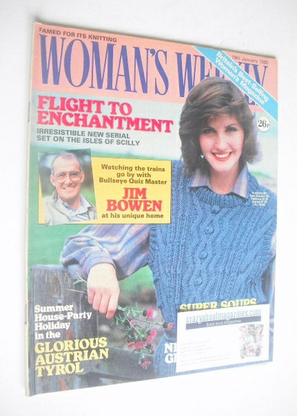 <!--1985-01-19-->Woman's Weekly magazine (19 January 1985 - British Edition