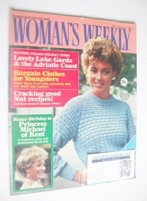 <!--1985-01-12-->Woman's Weekly magazine (12 January 1985 - British Edition