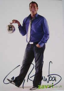 Craig Revel Horwood autograph (hand-signed publicity card)