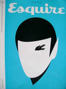 <!--2009-05-->Esquire magazine - Spock cover (May 2009)