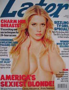 Later magazine - Kristy Swanson cover (March 2001)
