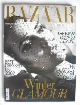 Harper's Bazaar magazine - December 2009 - Victoria Beckham cover (Cover 1)