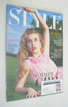 Style magazine - Emma Roberts cover (17 April 2011)
