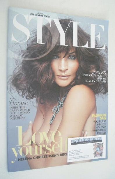 <!--2011-07-17-->Style magazine - Helena Christensen cover (17 July 2011)