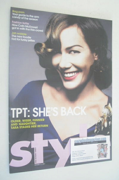 <!2007-08-12-->Style magazine - Tara Palmer-Tomkinson cover (12 August 2007