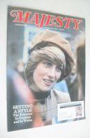 <!--1983-01-->Majesty magazine - Princess Diana cover (January 1983 - Volume 3 No 9)