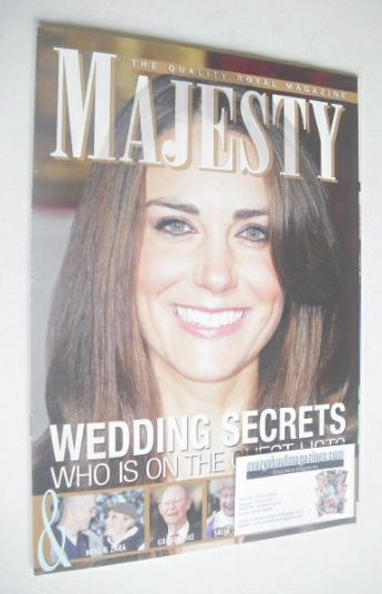 <!--2011-02-->Majesty magazine - Kate Middleton cover (February 2011)