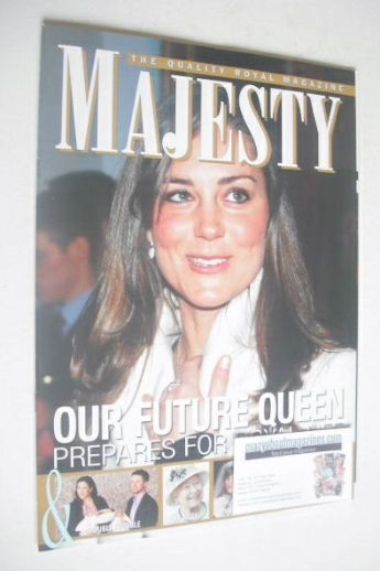 <!--2011-03-->Majesty magazine - Kate Middleton cover (March 2011 - Vol 32