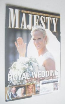 Majesty magazine - Zara Philliips cover (September 2011)