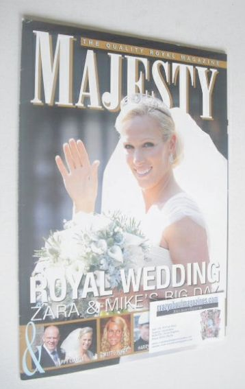 <!--2011-09-->Majesty magazine - Zara Philliips cover (September 2011)