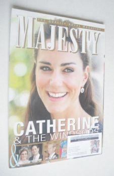 Majesty magazine - Kate Middleton cover (October 2011)