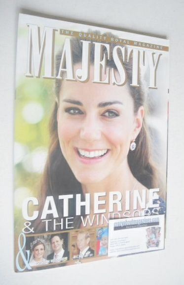 <!--2011-10-->Majesty magazine - Kate Middleton cover (October 2011)
