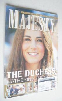 Majesty magazine - The Duchess of Cambridge cover (January 2012)