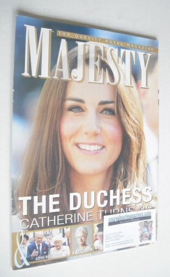 <!--2012-01-->Majesty magazine - The Duchess of Cambridge cover (January 20