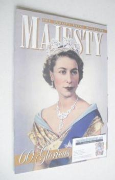 Majesty magazine - Queen Elizabeth II cover (February 2012)