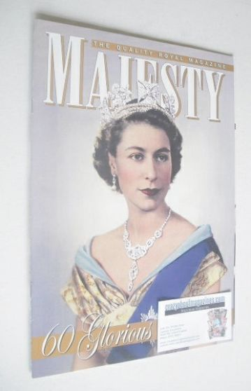 <!--2012-02-->Majesty magazine - Queen Elizabeth II cover (February 2012)