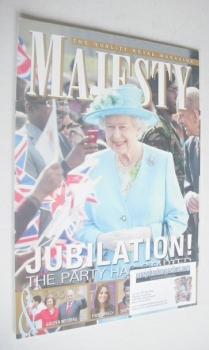 Majesty magazine - Queen Elizabeth II cover (May 2012)