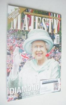 Majesty magazine - Queen Elizabeth II cover (July 2012)