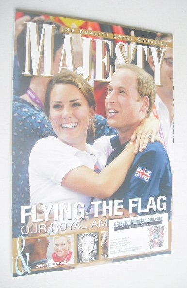 <!--2012-09-->Majesty magazine - The Duke and Duchess of Cambridge cover (S