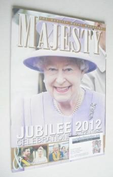 Majesty magazine - Queen Elizabeth II cover (December 2012)