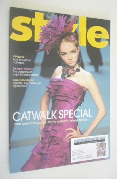 Style magazine - Lily Cole cover (29 July 2007)