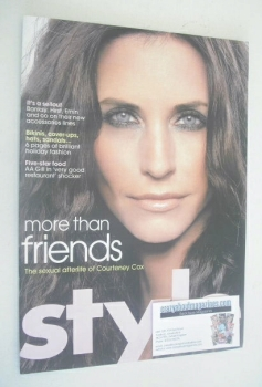 Style magazine - Courteney Cox cover (8 July 2007)