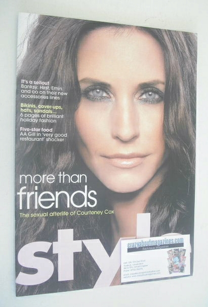 <!--2007-07-08-->Style magazine - Courteney Cox cover (8 July 2007)