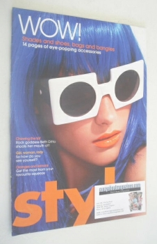 Style magazine - Eye Popping Accessories cover (4 February 2007)